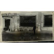 1923 Press Photo Rotunda of National Capitol for President Harding funeral