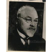 1927 Press Photo G. Semgal, President of Latvian Republic