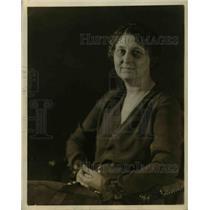 1926 Press Photo Miss Rosamond C Cook Of Teacher's College, Columbia University