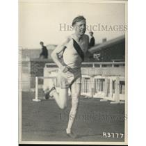 1929 Press Photo Dave Abbott of Illinois Conference 2 mile Champion