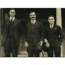 1923 Press Photo Rep Hamilton Fish NY, YS Plamenatz,, Tomitch