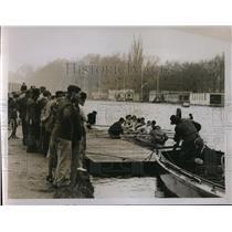1929 Press Photo Oxford crew at practice at Putney England - nes23458
