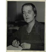 1934 Press Photo Mrs. Pattie Ruffner Jacobs, head of Women's Division of NRA