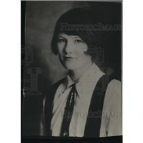 1925 Press Photo Mary Frances O'Bannon winner of spelling contest