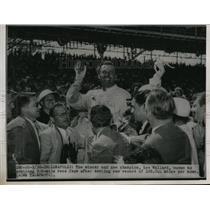 1951 Press Photo The new champion of the 500 mile race, Lee Wallard - nes24115