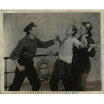1930 Press Photo Joseph Granby, Jack Rigo, Edwin Whitney in Harbor Lights