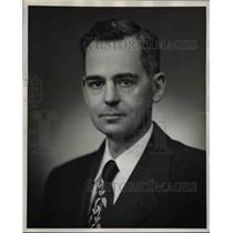 1953 Press Photo G-E Atomic Products Division General Manager Francis McCune