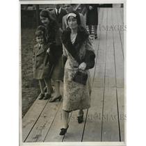 1931 Press Photo Mrs Katsuji Deduchi Japananes Amb wife in US