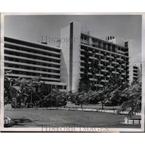 1956 Press Photo View of the Swank Hotel El Panama