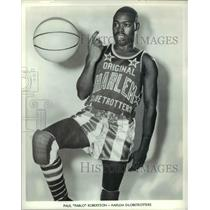 Press Photo Paul Robertson of the Harlem Globetrotters