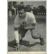 1932 Press Photo Henri Laborde, Stanford University Football Team Tackle