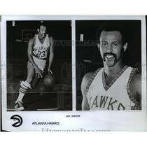 Press Photo Lou Hudson of Atlanta Hawks