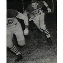 1937 Press Photo Ed Cherry Fullback Hardin-Simmons University  Cowboys