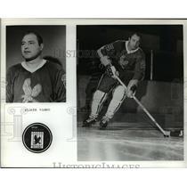 Undated Press Photo Elmer Vasko of the Golden Eagles Hockey Club