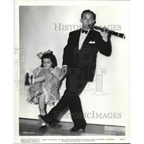 1941 Press Photo Bing Crosby & Mary Martin in Birth of the Blues