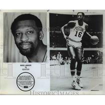 1984 Press Photo Bob Lanier, Detroit nPistons center, retired