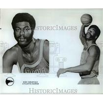 1975 Press Photo Bob Christian Atlanta Hawks