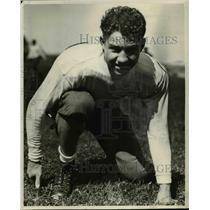 1931 Press Photo Max Eiden Running Guard No 7