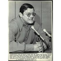 1971 Press Photo Alex Karras Detroit Lions defensive tackle