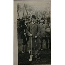 1912 Press Photo His Royal Highness Prince of Wales at Windsor Great Park