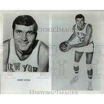 Press Photo Jerry Lucas of New York Knickerbockers