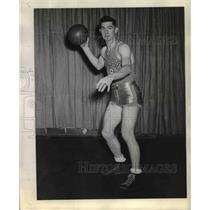1944 Press Photo Tom Callan of Idaho Basketball team