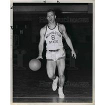 1961 Press Photo Don Steinbrunner of Washington State Basketball