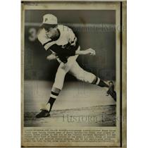 1971 Press Photo Pittsburgh Rookie Pitcher Bruce Kison World Series