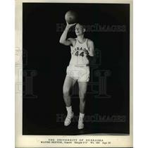 1960 Press Photo Wayne Hester Guard University of Nebraska Basketball