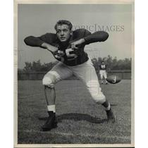 1958 Press Photo Joe Long, Stanford center