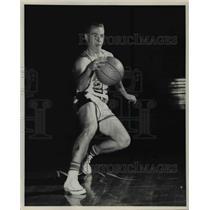 1961 Press Photo Gary Floan, Lewiston guard.