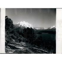Press Photo Andea mts in Argentina