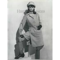 1930 Press Photo Winter Fashions Maleleine De Rauch Has Designed This Ensemble