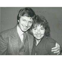 1980 Press Photo Actor Tommy Steele and wife Ann