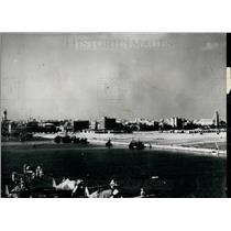 Press Photo View of Town of Port Said From Suez Canal