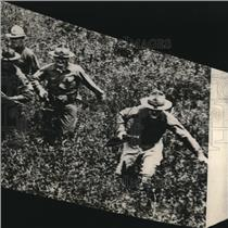 1918 Press Photo Cavalry of New York National Guard in Action.