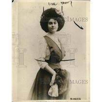 1918 Press Photo Nina Fennell Sussex England