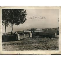 1927 Press Photo Naval & commercial ports of old Carthage at Tunis