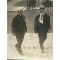 1917 Press Photo Chief Gideon Robshaw & Capt Frank Smith