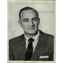 1954 Press Photo Tom Harmon Sportscaster NCAA Football on ABC - orp16071