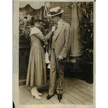 1916 Press Photo Miss G McCormick of St Louis & William McCombs Democrat