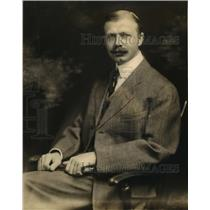 1919 Press Photo Dr Charles E Bolduan Bureau of Public Health Education New York