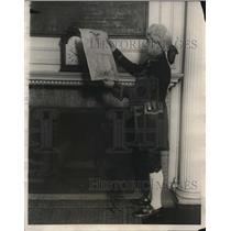 1924 Press Photo Frauncess Tavern New York City General George Washington