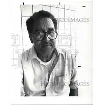 1987 Press Photo Ronald Harris