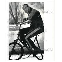 1987 Press Photo Ed Richard, mayoral aid