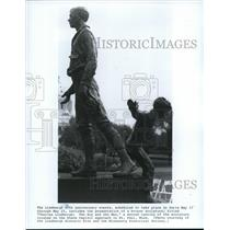 1987 Press Photo Charles Lindbergh: The boy and The Man