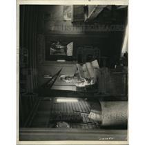 1925 Press Photo The car where Lincoln wrote the Gettysburg Address