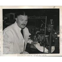 1940 Press Photo Dr Baldwin Lucke University of Pennsylvania School of Medicine