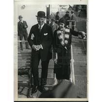 1931 Press Photo James Stillman Returning After Second Honeymoon