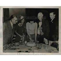 1939 Press Photo Rhode Island Governor William H. Vanderbilt 80th Anniversary